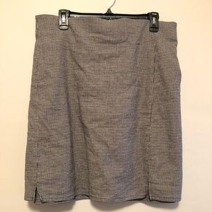 ASOS Houndstooth miniskirt
